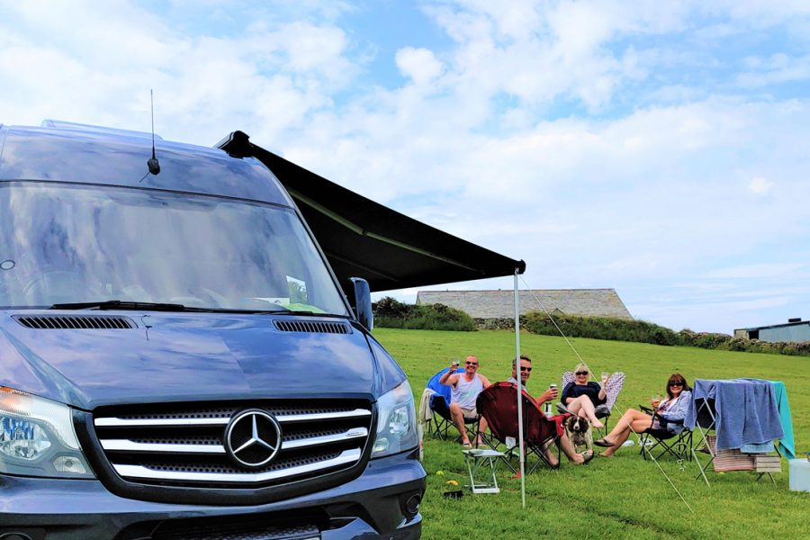 Happy Campers at The Headland